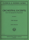 International Music Company Gingold, J.: Orchestral Excerpts Vol.1 revised (violin) IMC