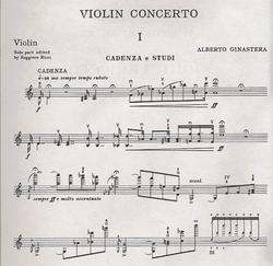 HAL LEONARD Ginastera, A.: Violin Concerto, Op.30 (Violin & Piano)