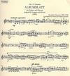 Glazunoff: Album Leaf (violin & piano)