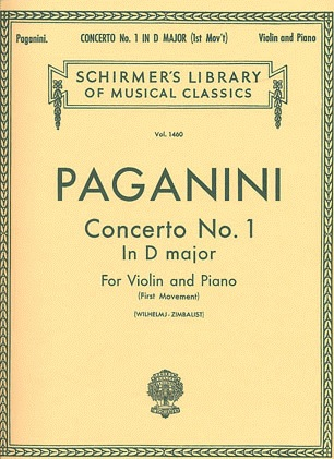 HAL LEONARD Paganini, Niccolo: Concerto #1 in D-first movement (violin & piano)
