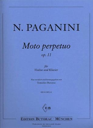 Paganini, N.: Moto perpetuo Op.11 (violin & piano)