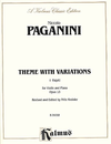 Alfred Music *OUT OF PRINT* Paganini (Kreisler) Palpitti Op.13 (violin & piano)
