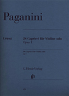 HAL LEONARD Paganini, N. (Cantu, ed.): 24 Caprices, Op.1, (violin)