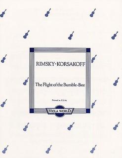 Rimsky-Korsakov, Nikolai: Flight of the Bumblebee (viola & piano)