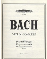 Bach, J.S.: Violin Sonata #2 BWV 1015 (violin & piano)