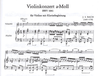 HAL LEONARD Bach, J.S. (Flesch): Concerto #1 in a minor (violin & piano)