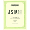 Bach, J.S. (Strub): Concerto #2 in E BWV1042 (violin & piano)