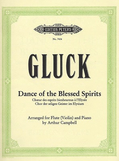 Gluck, C.W.: Dance of the Blessed Spirits (violin & piano)