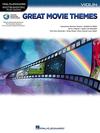 HAL LEONARD Great Movie Themes (violin, and audio accompaniment)