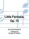 HAL LEONARD Gorecki, H.: Little Fantasia Op. 73 (violin & piano)