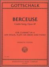 International Music Company Gottschalk: Berceause-Cradle Song, Op.47 (violin & piano)