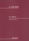 HAL LEONARD Gounod, C. (Bach): Ave Maria (violin, and piano)