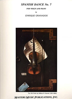 LudwigMasters Granados, Enrique: Spanish Dance No.7 (violin & piano)