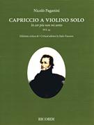 HAL LEONARD Paganini: Capriccio a violino solo 44 (violin) RICORDI