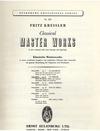Paganini, Niccolo (Kreisler): Le Streghe, Op. 8 (violin & piano)