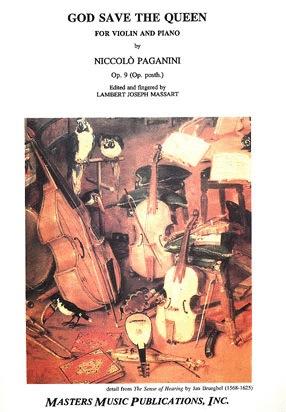 LudwigMasters Paganini, Niccolo: God Save The Queen (violin & piano)
