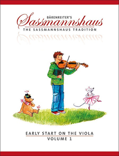Barenreiter Sassmannshaus: Early Start on the Viola, Vol.1 (viola) Barenreiter