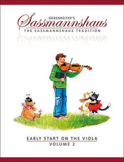Barenreiter Sassmannshaus: Early Start on the Viola, Vol.2 (viola) Barenreiter