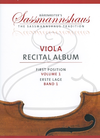 Barenreiter Barenreiter (Lusk/Sassmannshaus): (collection/score/parts) Viola Recital Album, Vol.1 - ARRANGED (viola & piano/2 violas) Barenreiter
