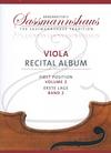 Barenreiter Barenreiter (Lusk/Sassmannshaus): (collection/score/parts) Viola Recital Album, Vol.2 - ARRANGED (viola & piano/2 violas) Barenreiter