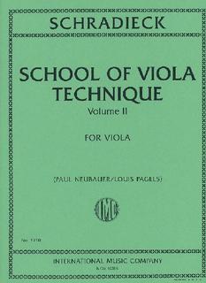 International Music Company Schradieck, H. (Neubauer/Pagels, ed.): School of Viola Technique, Vol. 2 (viola)
