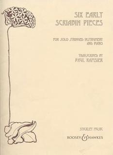 HAL LEONARD Scriabin (Ramsier): Six Early Scriabin Pieces (viola) (piano part sold seperately)