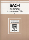 Carl Fischer Bach, J.S. (Auer): Six Sonatas for Unaccompanied Violin