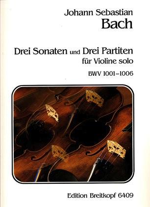 Bach, J.S. (Davisson)Sonatas & Partitas (violin solo)