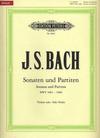 Bach, J.S. (Rostal): Six Sonatas and Partitas, BWV1001-1006 - Urtext (violin)