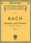 HAL LEONARD Bach, J.S. (Herrmann): Sonatas & Partitas (violin solo) Schirmer