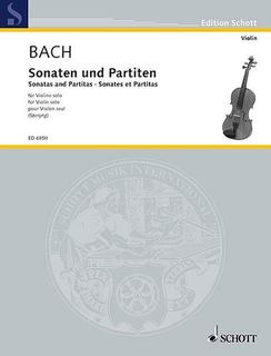 Schott Music Bach, J.S. (Szeryng): Sonatas and Partitas (violin) Schott