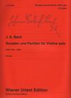 Carl Fischer Bach, J.S. (Gluxam): 6 Sonatas & Partitas, BWV1001-1006 - URTEXT (violin) Wiener Urtext Edition
