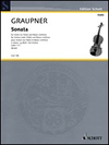 HAL LEONARD Graupner, C. (Birtel): Sonata in G Minor (violin or flute and basso continuo)