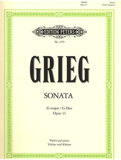Grieg, Edvard: Sonata Op.13 in G (violin & piano)
