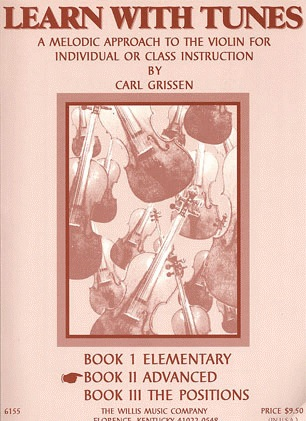 HAL LEONARD Grissen, C.: Learn With Tunes, Bk.2 Advanced (violin)