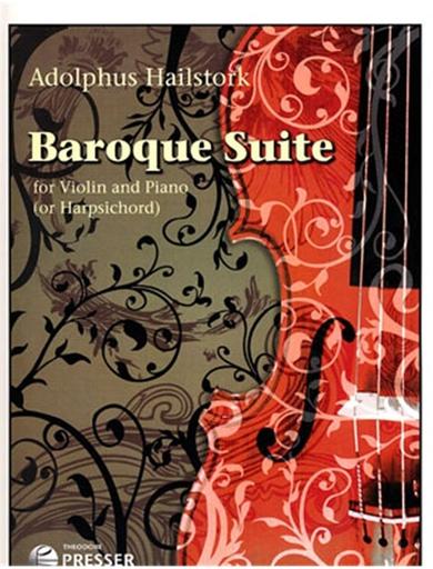 Carl Fischer Hailstork, Adolphus: Baroque Suite (violin & piano)