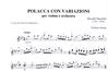 Carl Fischer Paganini, Niccolo: Polacca con Variazioni (violin & piano)