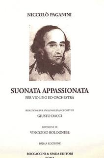 Carl Fischer Paganini, Niccolo: Suonata Appassionata (violin & piano)