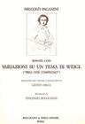 Carl Fischer Paganini, Niccolo: Suonata ''Weigl''(violin & piano)