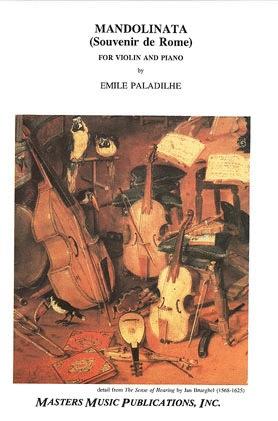 LudwigMasters Paladilhe, Emile: Mandolinata-Souvenir de Rome (violin & piano)