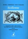 HAL LEONARD Paradis, Maria Theresa (Dushkin): Sicilienne (violin or cello & piano)