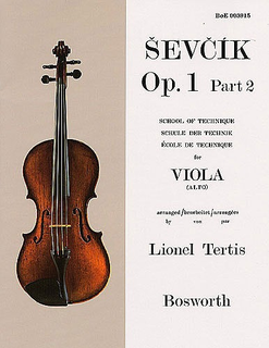 Bosworth Sevcik, O. (Tertis): Op.1#2 Viola
