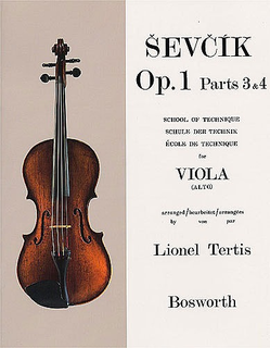 Bosworth Sevcik, O. (Tertis): School of Technique Op.1 #3-4 (Viola)