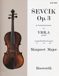 Bosworth Sevcik, O. (Major): 40 Variations Op.3 (Viola)