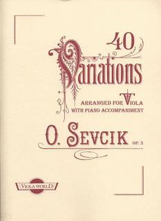 Sevcik (Arnold): 40 Variations Op.3 (viola & piano)