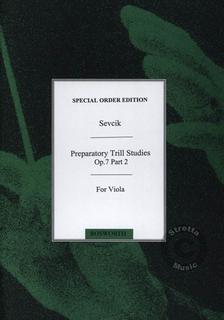 HAL LEONARD Sevcik, O. (Arnold): Preparatory Studies in Trilling Op.7 Bk.2 (viola)