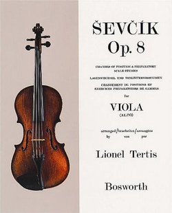 Bosworth Sevcik, O. (Tertis): Changes of Position Op.8 (Viola)