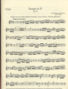 Carl Fischer Bach, C.Ph.E.: Works for Violin and Harpsichord, Vol. 1, urtext (violin and harpsichord)
