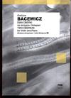 Carl Fischer Bacewicz, Grazyna: Two Oberecks (violin & piano)