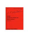 Carl Fischer Handel, G.F.: Sonatas for Violin & Basso Continuo (violin, cello, piano)